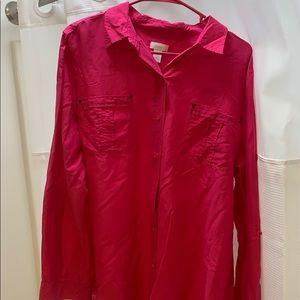 Chico's silk blouse
